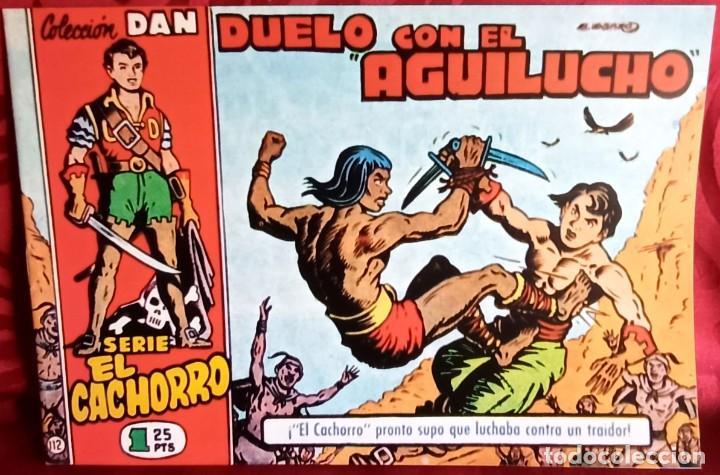 EL CACHORRO - ORIGINAL DEL AÑO 1982 - DUELO CON EL AGUILUCHO - BUEN ESTADO (Tebeos y Comics - Bruguera - El Cachorro)