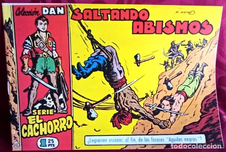 EL CACHORRO - ORIGINAL - SALTANDO ABISMOS - BUEN ESTADO (Tebeos y Comics - Bruguera - El Cachorro)
