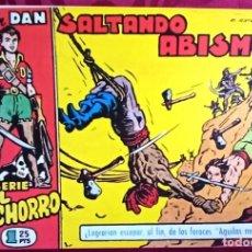 Tebeos: EL CACHORRO - ORIGINAL - SALTANDO ABISMOS - BUEN ESTADO. Lote 253062980