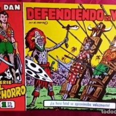 Tebeos: EL CACHORRO - ORIGINAL DEL AÑO 1983 - DEFENDIENDO LA VIDA - BUEN ESTADO. Lote 253063205