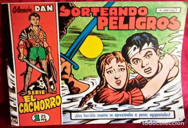 EL CACHORRO - ORIGINAL - SORTEANDO PELIGROS - BUEN ESTADO (Tebeos y Comics - Bruguera - El Cachorro)