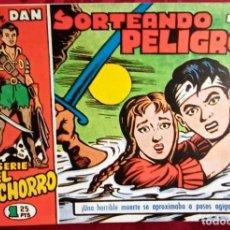 Tebeos: EL CACHORRO - ORIGINAL - SORTEANDO PELIGROS - BUEN ESTADO. Lote 253063330
