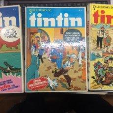 Tebeos: SELECCIONES DE TINTIN 3 TOMOS. Lote 253120110