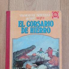 Tebeos: EL CORSARIO DE HIERRO SERIE ROJA TOMÓ V. 1981.. Lote 253149475