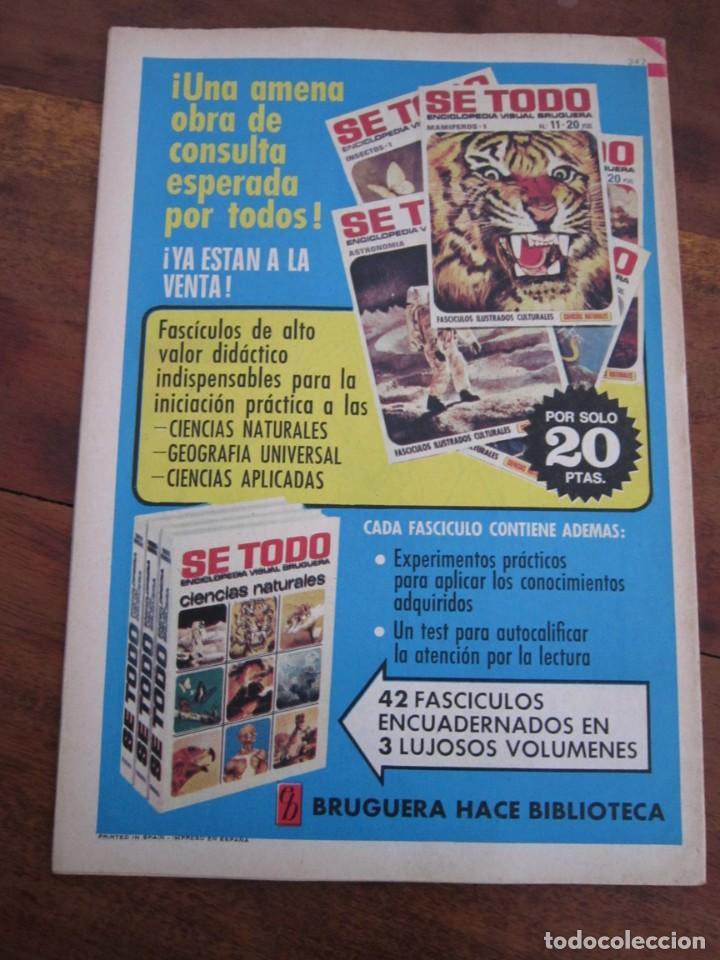 Tebeos: LOTE 94 REVISTA JUVENIL DDT BRUGUERA ENTRE LOS NUMS 279 Y 523 MUY BUEN ESTADO - Foto 43 - 237761035