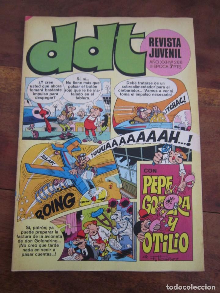 Tebeos: LOTE 94 REVISTA JUVENIL DDT BRUGUERA ENTRE LOS NUMS 279 Y 523 MUY BUEN ESTADO - Foto 71 - 237761035
