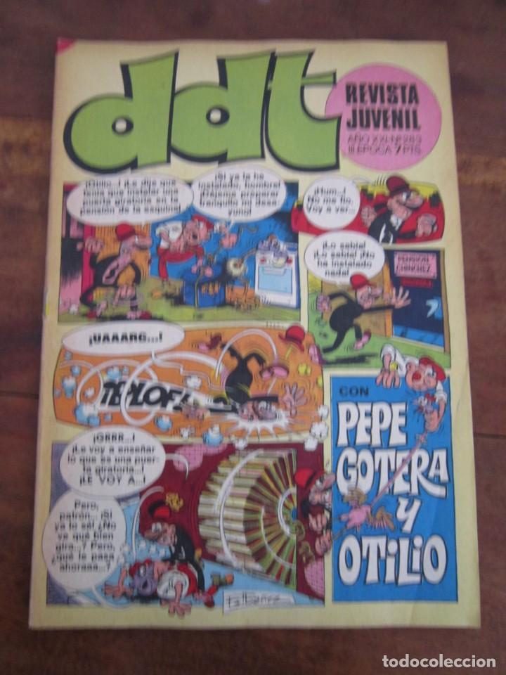 Tebeos: LOTE 94 REVISTA JUVENIL DDT BRUGUERA ENTRE LOS NUMS 279 Y 523 MUY BUEN ESTADO - Foto 73 - 237761035