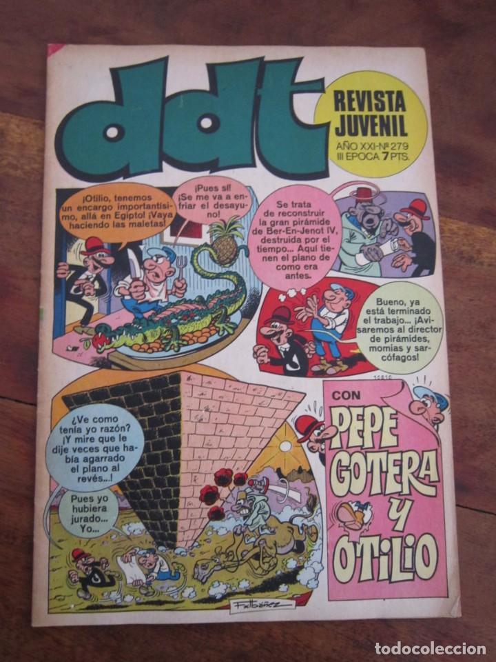 Tebeos: LOTE 94 REVISTA JUVENIL DDT BRUGUERA ENTRE LOS NUMS 279 Y 523 MUY BUEN ESTADO - Foto 75 - 237761035