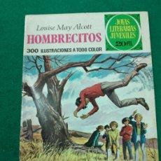 Tebeos: HOMBRECITOS. LOUISE MAY ALCOTT. JOYAS LITERARIAS JUVENILES Nº 127. BRUGUERA, 1ª EDICION 1975. Lote 253271910