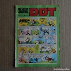 Tebeos: DDT, Nº 107. BRUGUERA, 1969. LITERACOMIC. Lote 253431125