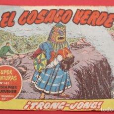 Tebeos: EL COSACO VERDE TRONG-JONG Nº 134 ORIGINAL BRUGUERA 1962. Lote 253530450