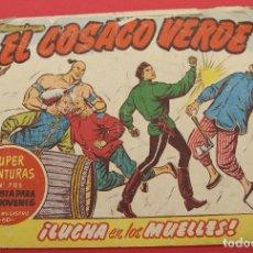 Tebeos: EL COSACO VERDE Nº 142 LUCHA EN LOS MUELLES ORIGINAL BRUGUERA 1963. Lote 253531045