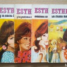 Tebeos: LOTE ESTHER Y SU MUNDO/JOYAS LITERARIAS JUVENILES SERIE AZUL N°1-2-3-22-23-43-69-73-81 (BRUGUERA). Lote 253558425