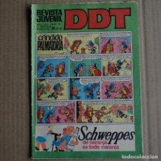 Tebeos: DDT, Nº 46. BRUGUERA, 1968. LITERACOMIC. Lote 253616910