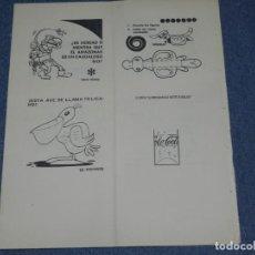 Tebeos: (M0) PASATIEMPOS JUVENILES EDITORIAL BRUGUERA, FRANCISCO IBAÑEZ, MORTADELO Y FILEMÓN. Lote 253636335