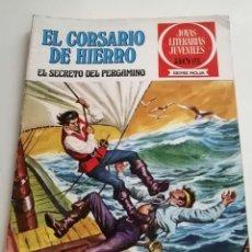 Tebeos: CORSARIO DE HIERRO Nº 8. EL SECRETO DEL PERGAMINO. SERIE ROJA. ED. BRUGUERA 1977. Lote 253644345
