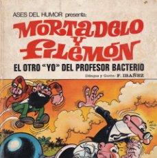 Tebeos: EL OTRO YO DEL PROFESOR BACTERIO - MORTADELO Y FILEMÓN - ASES HUMOR 24 - BRUGUERA 1973. Lote 253666905