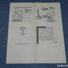 Tebeos: (M0) PASATIEMPOS JUVENILES EDITORIAL BRUGUERA, FRANCISCO IBAÑEZ, MORTADELO Y FILEMÓN. Lote 253684795
