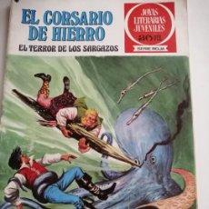 Tebeos: CORSARIO DE HIERRO Nº 27. EL TERROR DE LOS SARGAZOS. SERIE ROJA. ED. BRUGUERA 1978. Lote 253689740