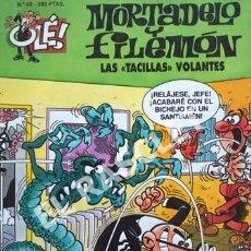 Tebeos: MORTADELO Y FILEMON -LAS TACILLAS VOLANTES -Nº 43- COLECIÓN OLE. Lote 253700110