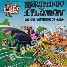 Tebeos: MORTADELO Y FILEMON -LOS QUE VOLCIERON DE ALLA -Nº 31- COLECIÓN OLE. Lote 253700480