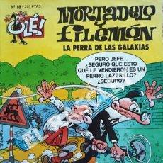 Tebeos: MORTADELO Y FILEMON -LA PERRA DE LAS GALAXIAS -Nº 18- COLECIÓN OLE. Lote 253700835