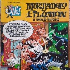 Tebeos: MORTADELO Y FILEMON - EL PINCHAZO TELEFÓNICO -Nº 82- COLECIÓN OLE. Lote 253701295
