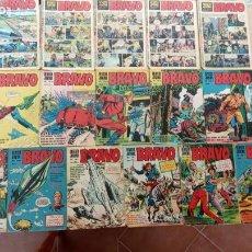 Tebeos: BRAVO REVISTA BRUGUERA 1968 NºS -1,2,4,5,6,7,14,22,23,24,27,28,29,30,31,32, GALAX EL COSMONAUTA. Lote 253849145