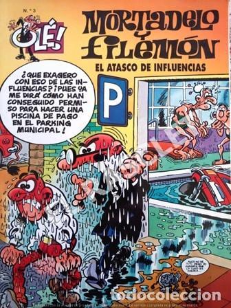 COMIC - MORTADELO Y FILEMON - Nº 3 - EL ATASCO DE INFLUENCIAS - (Tebeos y Comics - Bruguera - Ole)