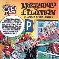 Tebeos: COMIC - MORTADELO Y FILEMON - Nº 3 - EL ATASCO DE INFLUENCIAS -. Lote 253850080