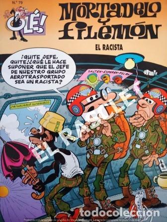 COMIC - MORTADELO Y FILEMON - Nº 79 - EL RACISTA - (Tebeos y Comics - Bruguera - Ole)