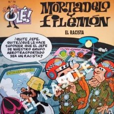 Tebeos: COMIC - MORTADELO Y FILEMON - Nº 79 - EL RACISTA -. Lote 253850695