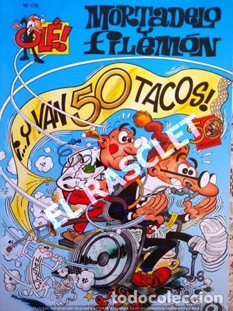 COMIC - MORTADELO Y FILEMON - Nº 179 - Y VAN 50 TACOS - (Tebeos y Comics - Bruguera - Ole)