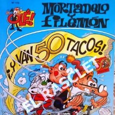 Tebeos: COMIC - MORTADELO Y FILEMON - Nº 179 - Y VAN 50 TACOS -. Lote 253851340