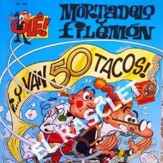 Tebeos: COMIC - MORTADELO Y FILEMON - Nº 179 - Y VAN 50 TACOS -. Lote 253851340