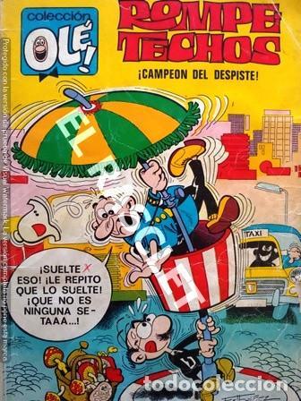 ANTIGÜO COMIC COLECCIÓN OLÉ - ROMPETECHOS - CAMPEÓN DEL DESPISTE (Tebeos y Comics - Bruguera - Ole)