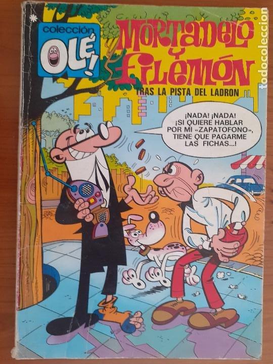 OLÉ Nº 71. MORTADELO Y FILEMÓN. TRAS LA PISTA DEL LADRÓN. BRUGUERA 1978 (Tebeos y Comics - Bruguera - Ole)
