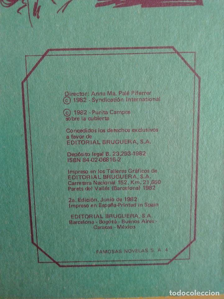 Tebeos: FAMOSAS NOVELAS SERIE AZUL CON ESTHER Y SU MUNDO. AÑO 1982 TOMO 4 - Foto 2 - 254088800
