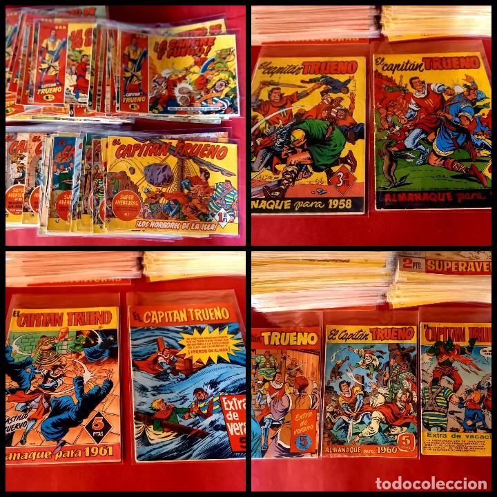 EL CAPITAN TRUENO -ORIGINAL COMPLETA CON LOS 7 EXTRAS-MEJORADOS LOS 50 PRIMEROS- VER FOTOS Y PRECIOS (Tebeos y Comics - Bruguera - Capitán Trueno)