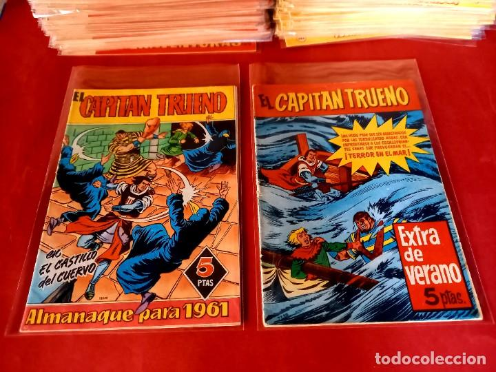 Tebeos: EL CAPITAN TRUENO -ORIGINAL COMPLETA CON LOS 7 EXTRAS-MEJORADOS LOS 50 PRIMEROS- VER FOTOS Y PRECIOS - Foto 53 - 254142655