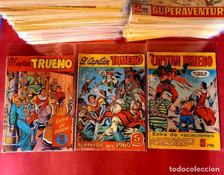 Tebeos: EL CAPITAN TRUENO -ORIGINAL COMPLETA CON LOS 7 EXTRAS-MEJORADOS LOS 50 PRIMEROS- VER FOTOS Y PRECIOS - Foto 54 - 254142655