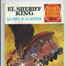 Tebeos: GRANDES AVENTURAS JUVENILES : EL SHERIFF KING Nº 23. LA HORA DE LA JUSTICIA. 1ª EDICION. 1972. Lote 254229875