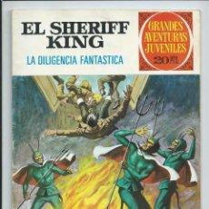 Tebeos: GRANDES AVENTURAS JUVENILES : EL SHERIFF KING Nº 64. LA DILIGENCIA FANTASTICA. 1ª EDICION. 1975. Lote 254230520