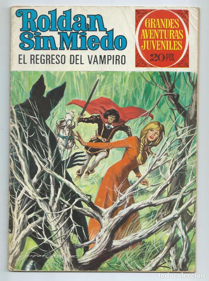 GRANDES AVENTURAS JUVENILES : ROLDAN SIN MIEDO Nº 63. EL REGRESO DEL VAMPIRO. 1ª EDICION. 1975 (Tebeos y Comics - Bruguera - Sheriff King)