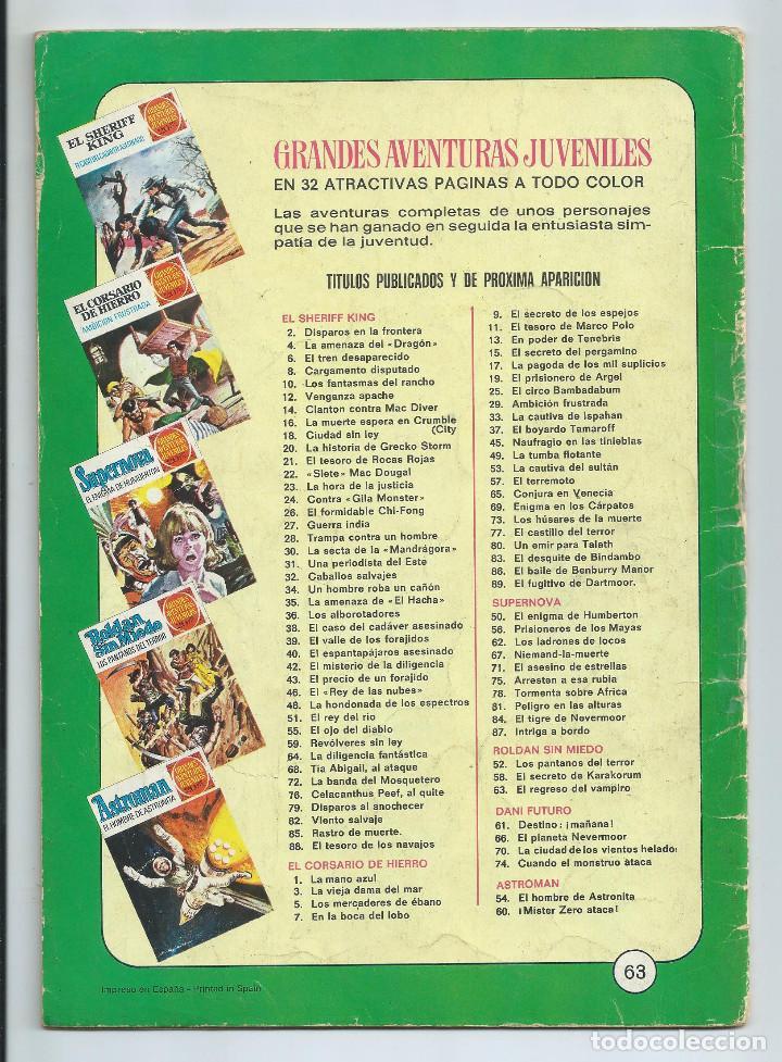 Tebeos: GRANDES AVENTURAS JUVENILES : ROLDAN SIN MIEDO Nº 63. EL REGRESO DEL VAMPIRO. 1ª EDICION. 1975 - Foto 2 - 254230900