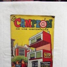 Tebeos: EL CAMPEON DE LAS HISTORIETAS Nº 33. Lote 254255730
