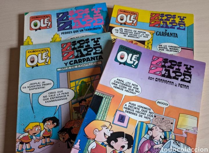 LOTE 4 NÚMEROS ZIPI Y ZAPE COLECCIÓN OLÉ 157 172 189 230 (Tebeos y Comics - Bruguera - Ole)