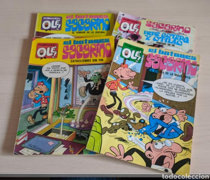 EL BOTONES SACARON COLECCIÓN OLÉ 62 84 122 132 (Tebeos y Comics - Bruguera - Ole)