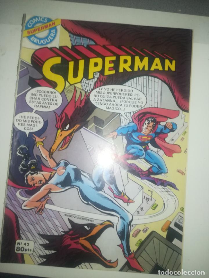 SUPERMAN #42 (Tebeos y Comics - Bruguera - Otros)