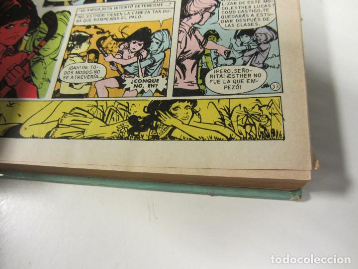 Tebeos: ESTHER Y SU MUNDO. Nº 1. 2ªEDICIÓN 1981. EDITORIAL BRUGUERA. TAPAS DURAS. FAMOSAS NOVELAS SERIE AZUL - Foto 5 - 135315374